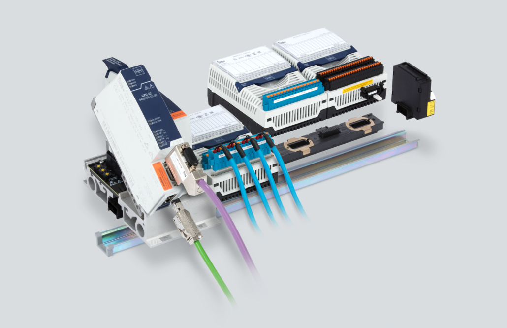 The IS1+ Remote I/O system for modern process automation offers support for PROFINET, EtherNet/IP, Modbus TCP and PROFIBUS DP