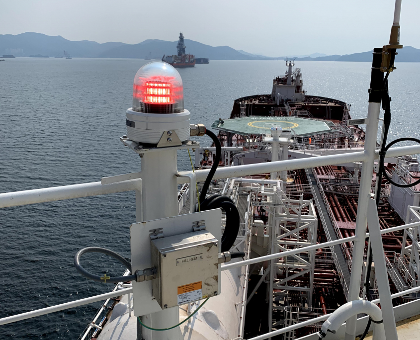TRANBERG® Status light not active aboard Altera Wave