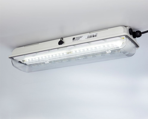 EXLUX luminaries for all your lighting needs in ex areas