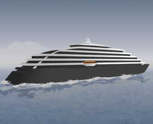 R. STAHL TRANBERG BlueLine Series Illustration Ship